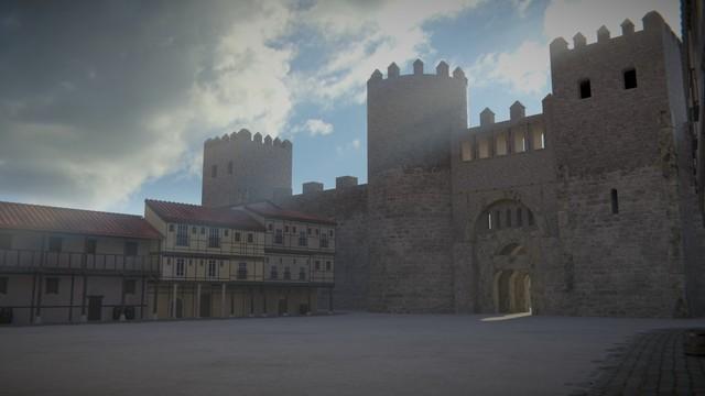 The Medieval Puerta Del Sol