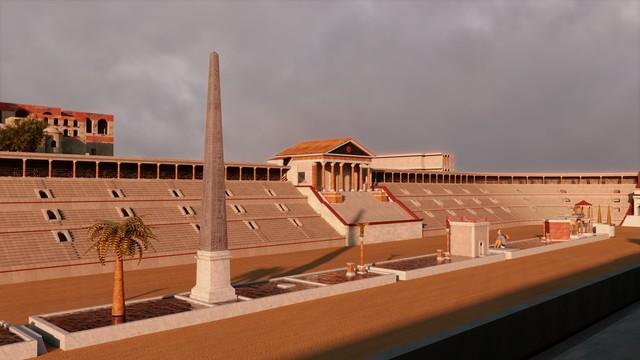 Inside the Circus Maximus