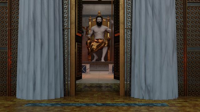 The Temple of Zeus, Entrance