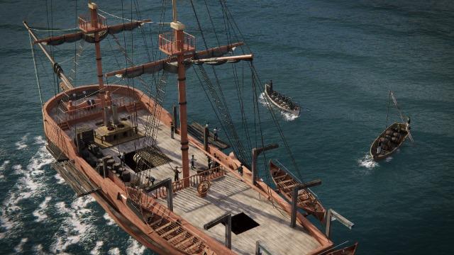 The Whaling Brig Caroline