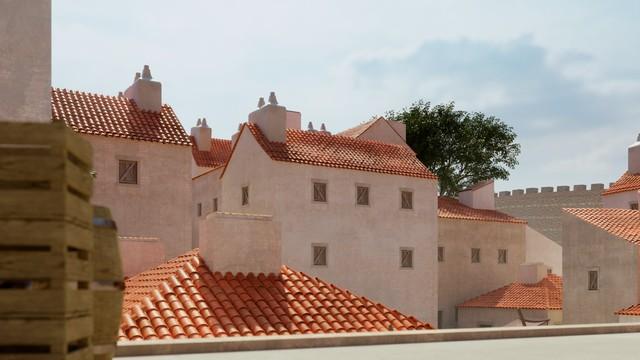 Muslim Quarter at Almudena