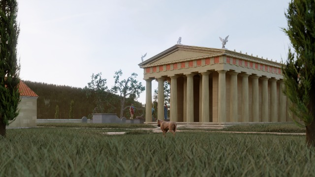 The Temple of Asklepios