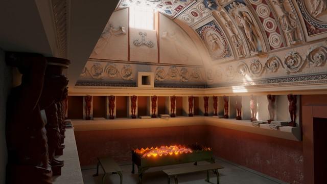 Forum Baths - Tepidarium