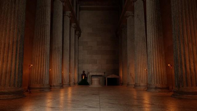 Inside the Temple of Apollo