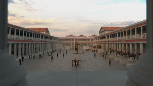 Forum - Temple of Jupiter