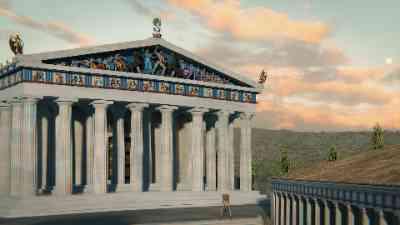 The Western Pediment