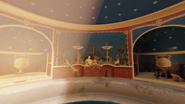 Stabian Baths - Frigidarium