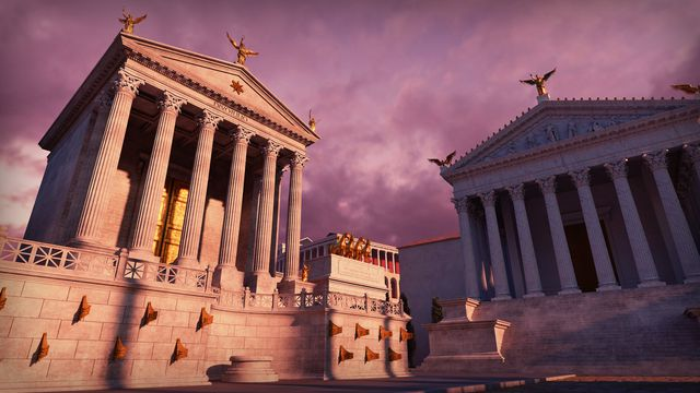 The Temple of Julius Caesar