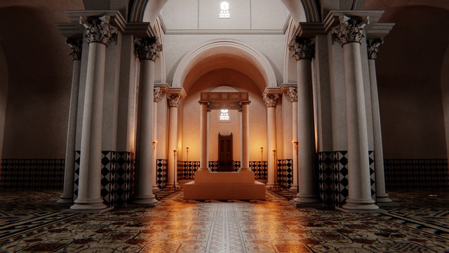 The Visigothic Baptistry
