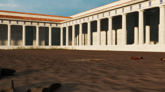 The Palaestra at Olympia