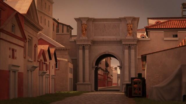 The Porta Romana